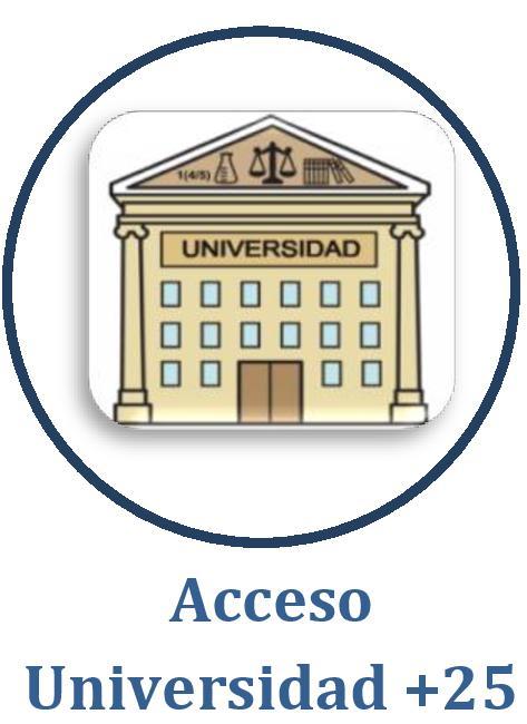 ACCESO UNIVERSIDAD +25 AÑOS