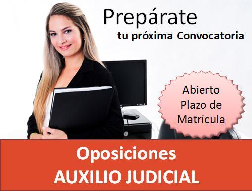 convocatoria auxilio Judicial Sevilla