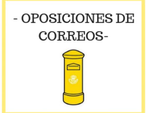 Lista de admitidos- Oposiciones Correos