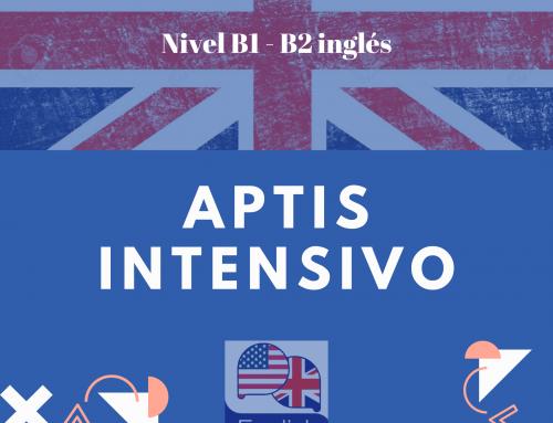 Curso intensivo Ingles: APTIS en 2 meses