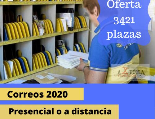Curso preparación Correos 2020