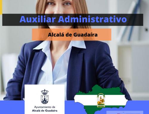 Auxiliar Administrativo Ayuntamiento Alcala : plazas convocadas