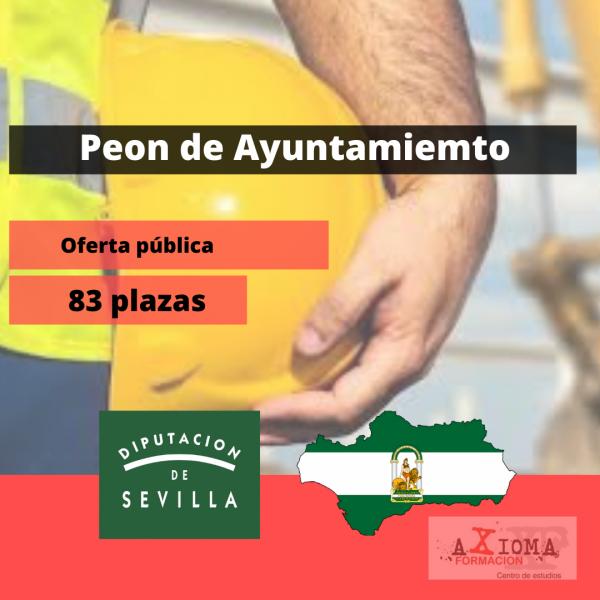 Peon y Oficios ayuntamiento Sevilla