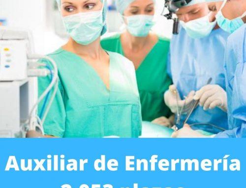Auxiliar de Enfermería SAS