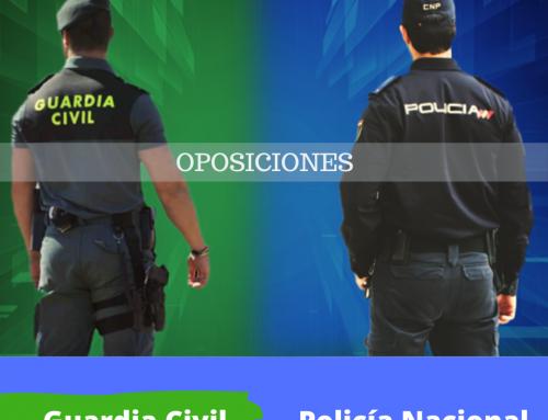 Oferta 2021 Policía y Guardia Civil